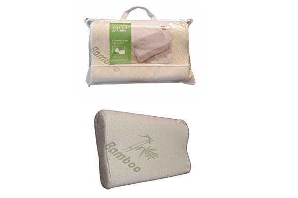 bamboo-orthopedic-contour-memory-foam-pillow