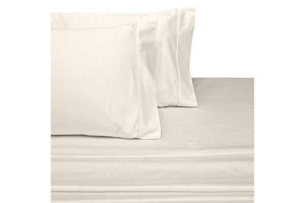 elegant-bedding-percale-ivory-bed-sheet